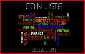 Coin Liste DOGECOIN