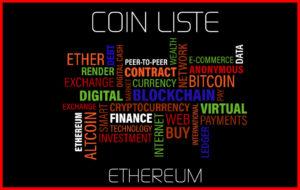 Coin Liste Ethereum eth
