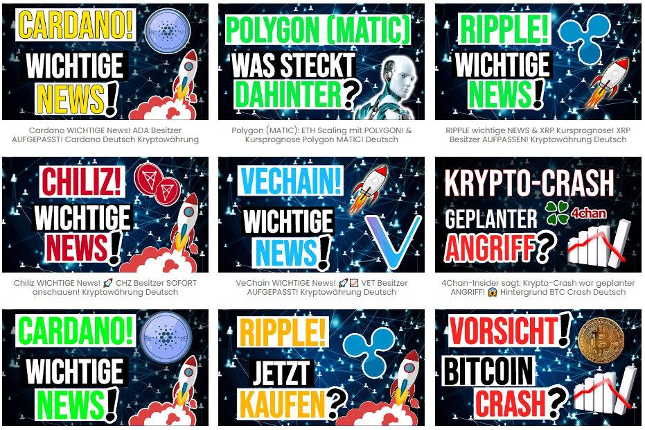 Crypto Mit Kopf Neue Videos updates und Prognosen Youtube Banner