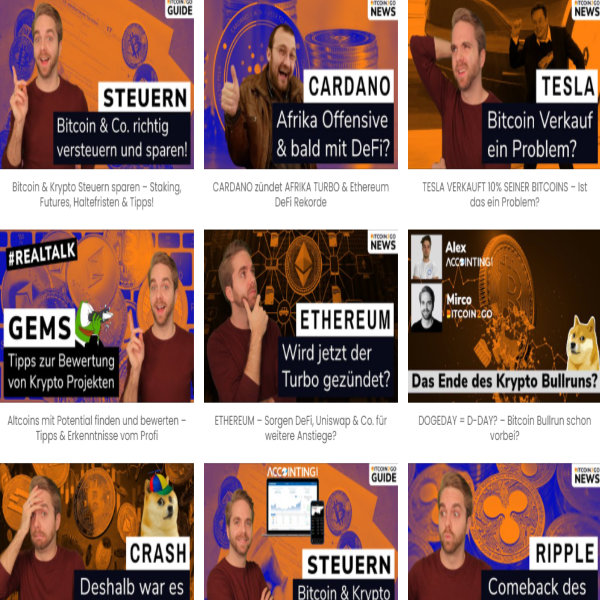 die-aktuellsten-bitcoin-krypto-videos-von Bitcoin2Go